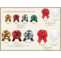 #9 Metallic Pull Bows
