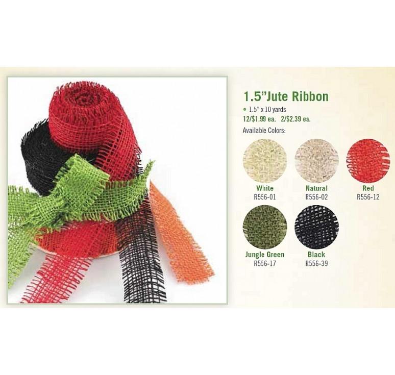 """1.5"""" Jute Ribbon"""