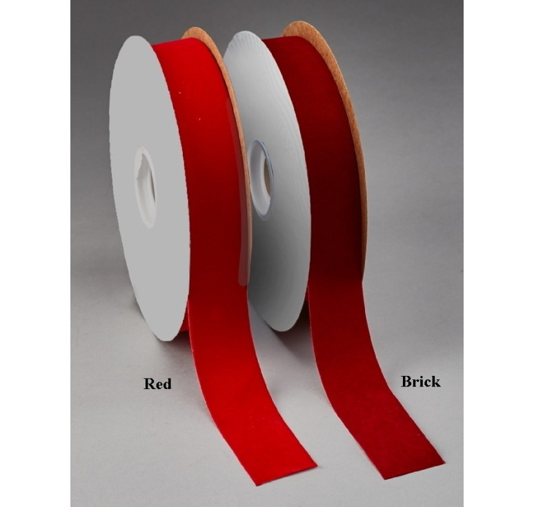 #9 Veltex® Red Velvet Ribbon x 100 YDS.