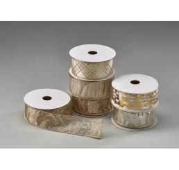 Wired-Edge Metallic Ribbon Assortment