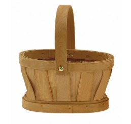 Oval Woodchip Single with Drop Handle